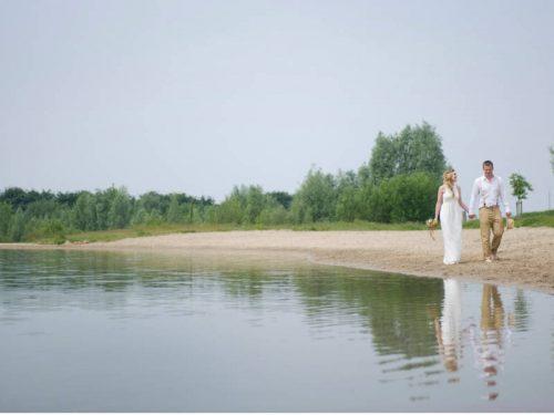 beach bruiloft watergoed