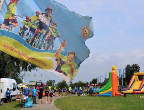 66 kinderen beleven fietsevenement Ome Joop's Tour bij Watergoed